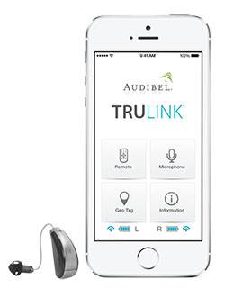 Audibel A3i iPod Hearing Aid with TruLink