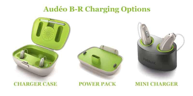 Audeo B-R Charging Options