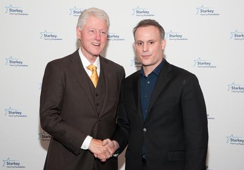 Bill Clinton President World Initiative for Hearing